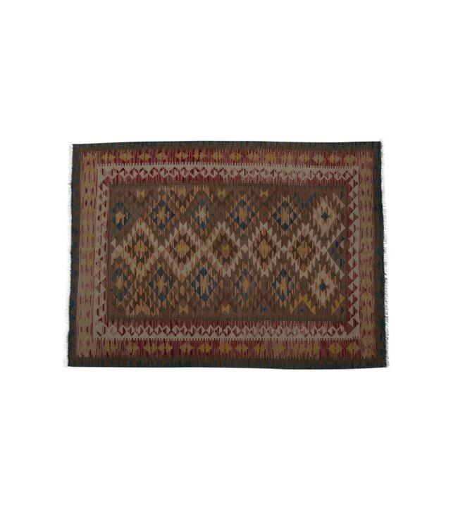 kelim  201 x 149 cm   vloerkleed tapijt kelims hand geweven