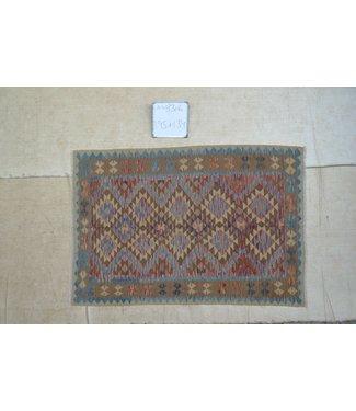 kelim kleed 195 x 134 cm  vloerkleed tapijt kelims hand geweven