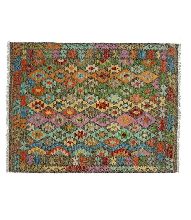 kelim  197 x 152 cm  vloerkleed tapijt kelims hand geweven
