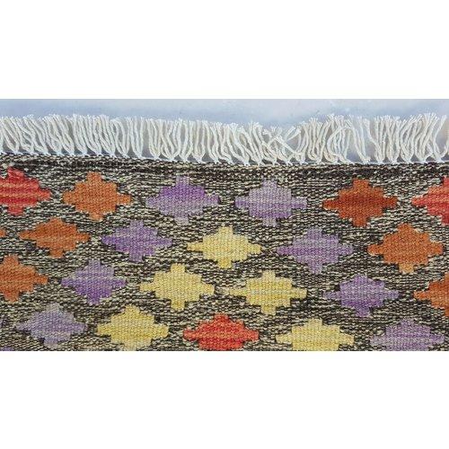 kelim 117 x 89 cm vloerkleed tapijt kelims hand geweven