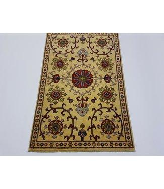 (4'11 x 3'1) feet  Hand knotted wool kazak area rug 151x95 cm