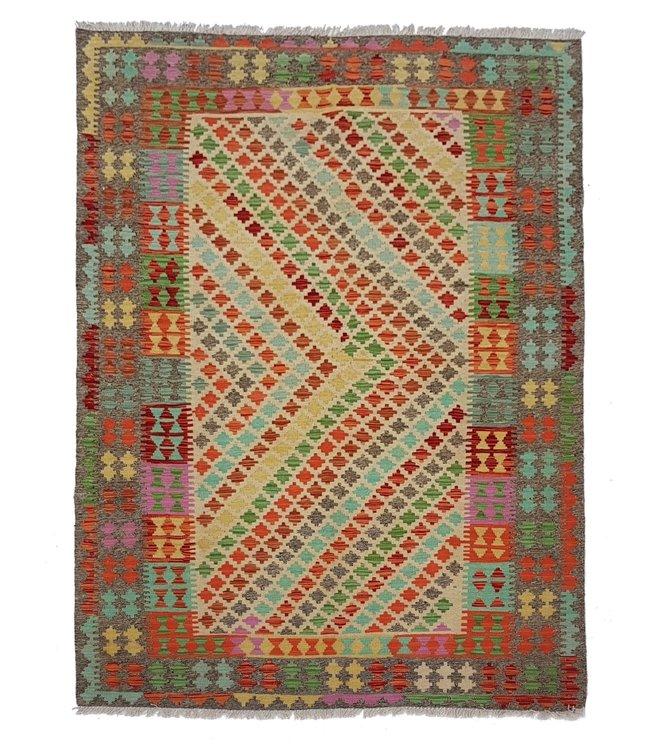 kelim 237x174 cm vloerkleed tapijt kelims hand geweven