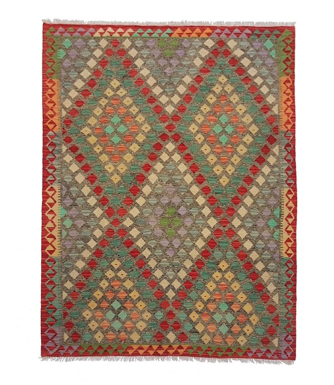 kelim 233 x 169  cm vloerkleed tapijt kelims hand geweven