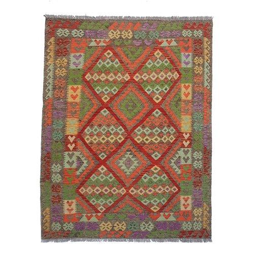 kelim 243x170 cm vloerkleed tapijt kelims hand geweven