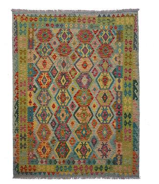 kelim kleed  246 x 181 cm vloerkleed tapijt kelims hand geweven