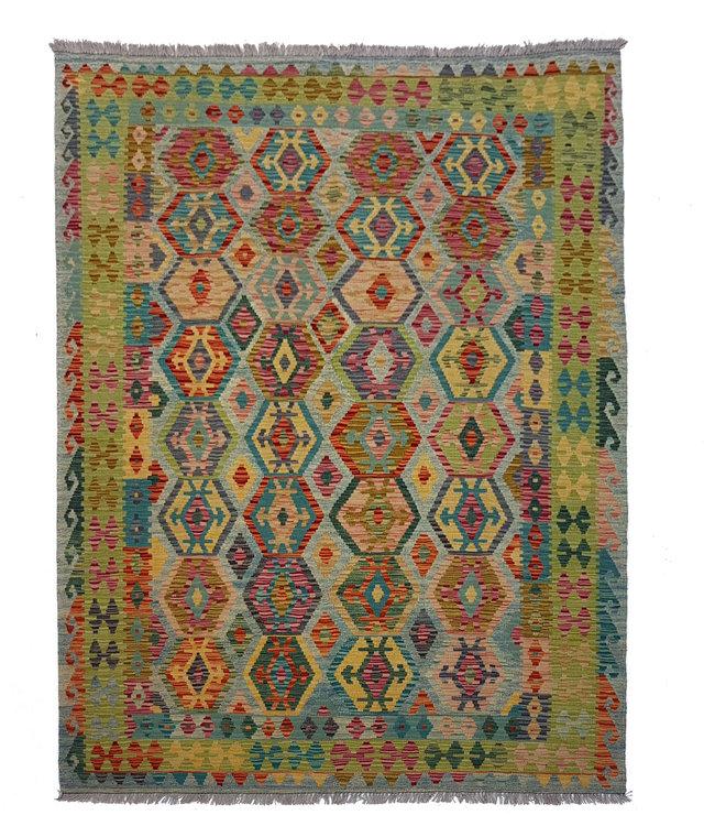 kelim 246 x 181 cm vloerkleed tapijt kelims hand geweven