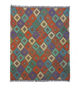 kelim kleed  197x153 cm vloerkleed tapijt kelims hand geweven