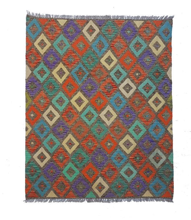 kelim  197x153 cm  vloerkleed tapijt kelims hand geweven