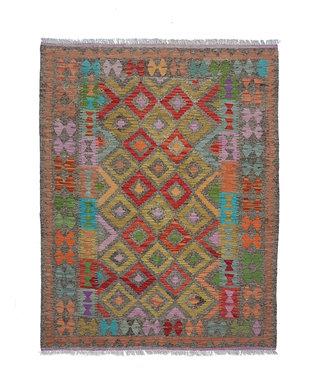 kelim kleed  193x158 cm vloerkleed tapijt kelims hand geweven