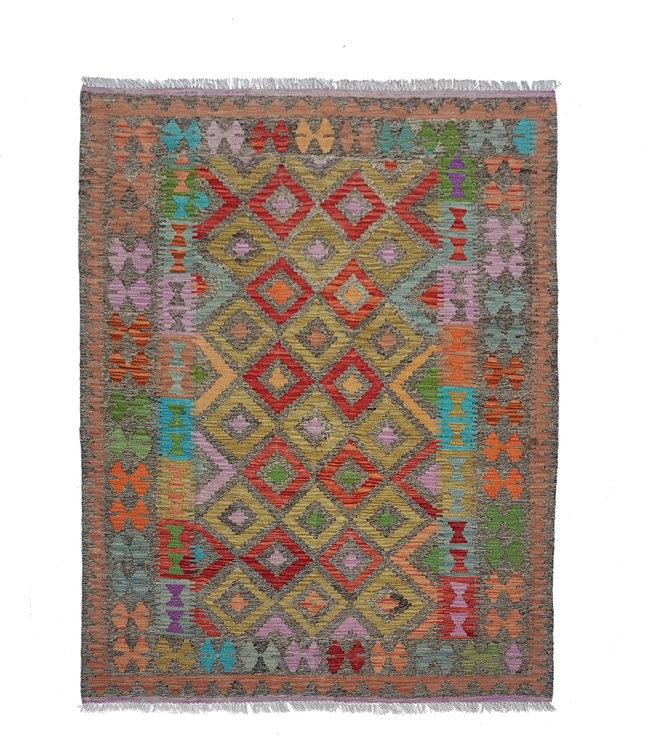 kelim 193x158 cm   vloerkleed tapijt kelims hand geweven