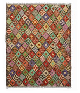 kelim kleed   203x162 cm vloerkleed tapijt kelims hand geweven