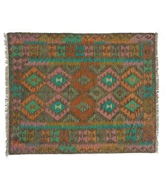 kelim kleed   189x148 cm vloerkleed tapijt kelims hand geweven