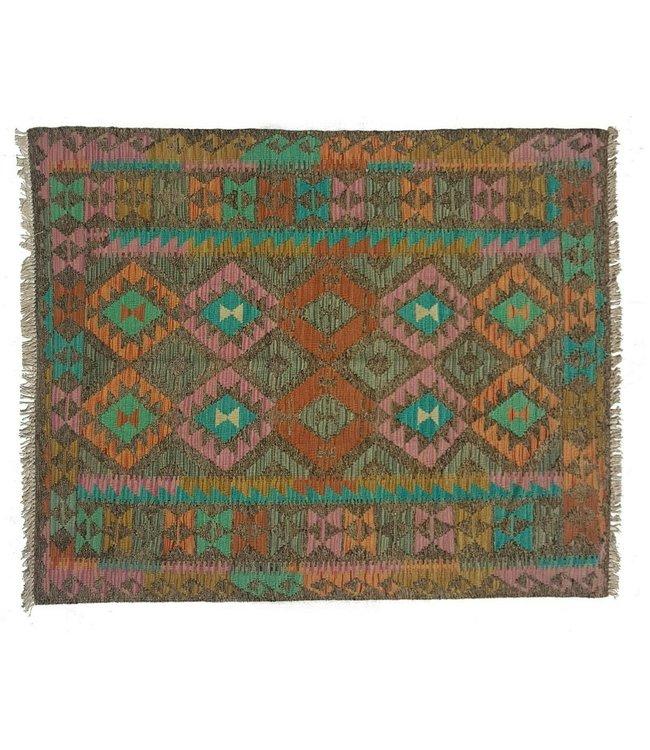 kelim   189x148 cm vloerkleed tapijt kelims hand geweven