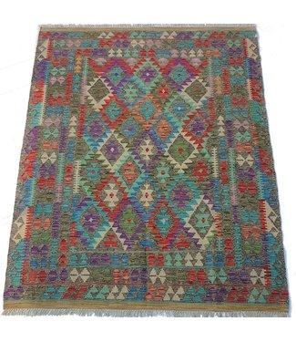 (6'5 x 4'11 )-Feet   kelim rug  198x151 cm