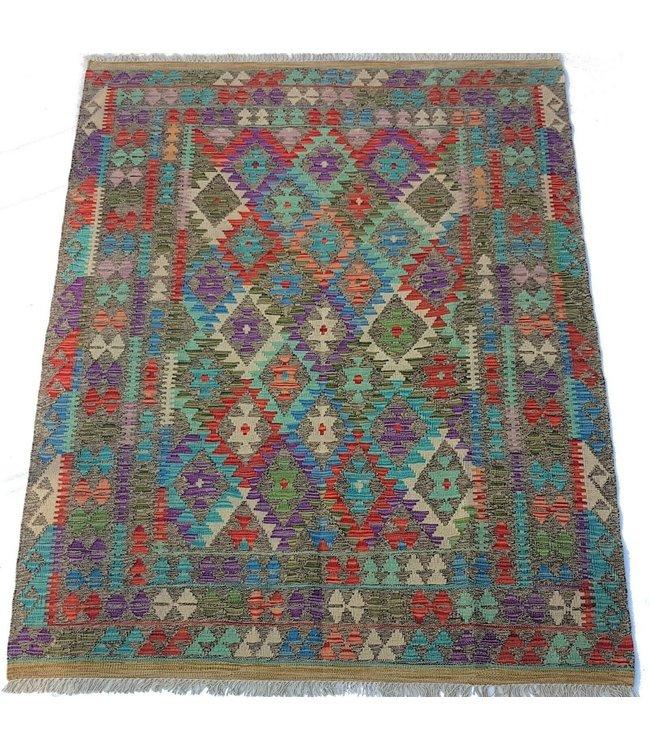 kelim  198x151 cm vloerkleed tapijt kelims hand geweven