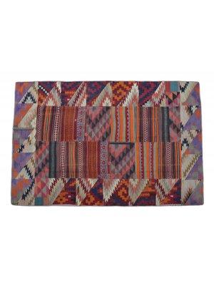 Patchwork Kelim teppich 290x193 cm