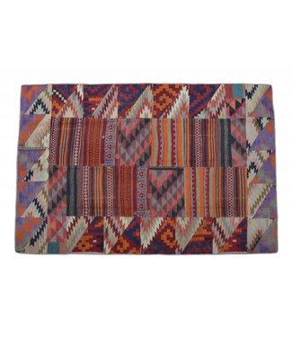 Patchwork Kilim carpet 290x193 cm