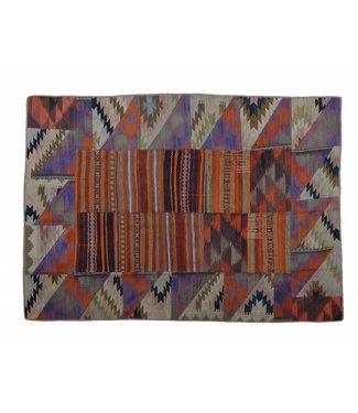 Patchwork Kilim carpet 232x175 cm