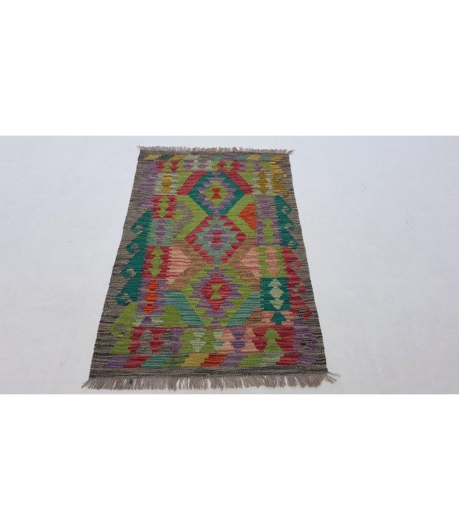 kelim 126x80 cm vloerkleed tapijt kelims hand geweven