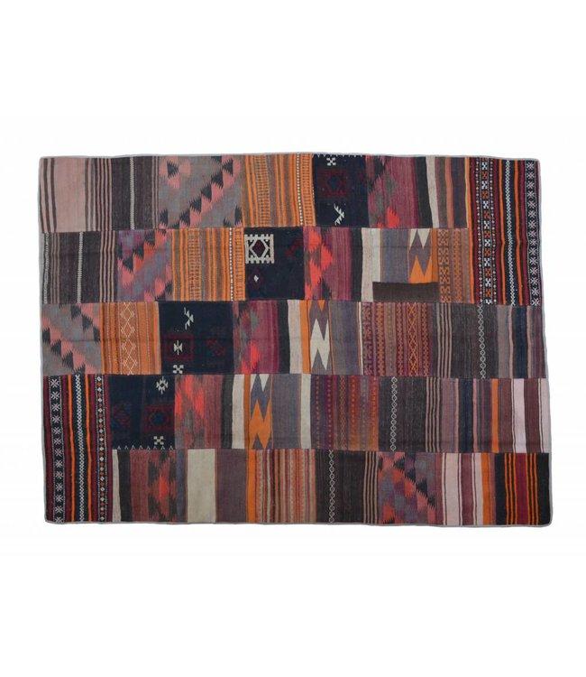 Patchwork Kilim carpet 242x178 cm