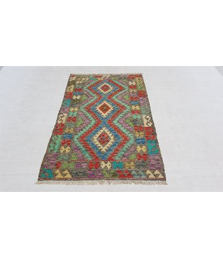 ( 4'9 x 3'1 ) feet  kelim rug   147x94 cm