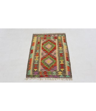(3'6 x 2'6 ) feet kelim rug  108x77 cm