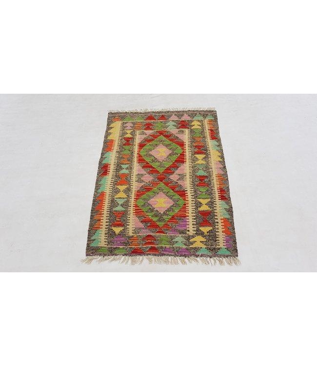 kelim 123x84 cm vloerkleed tapijt kelims hand geweven