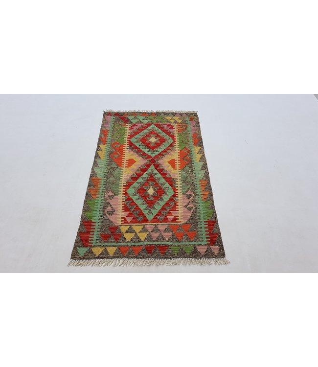 kelim   131x77 cm vloerkleed tapijt kelims hand geweven