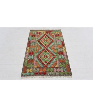 kelim kleed  124 x 84 cm vloerkleed tapijt kelims hand geweven