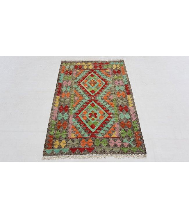 kelim 124 x 84 cm vloerkleed tapijt kelims hand geweven