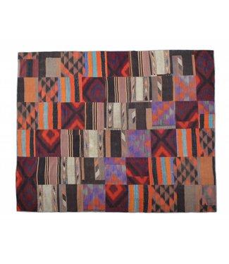 Patchwork Kilim carpet 305x252 cm