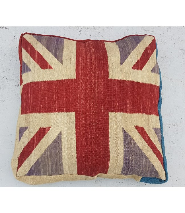 kilim cushion cover  100x100 x 15 cm