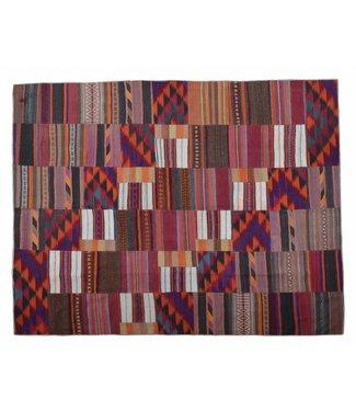 Patchwork Kilim carpet 307x258 cm