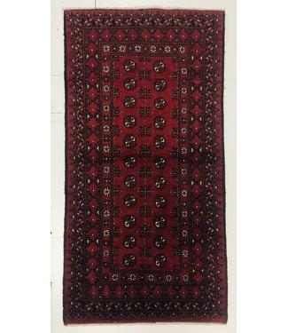 6'4x3'1 feet  Afghan rug aqcha hand knotted  196x95 cm