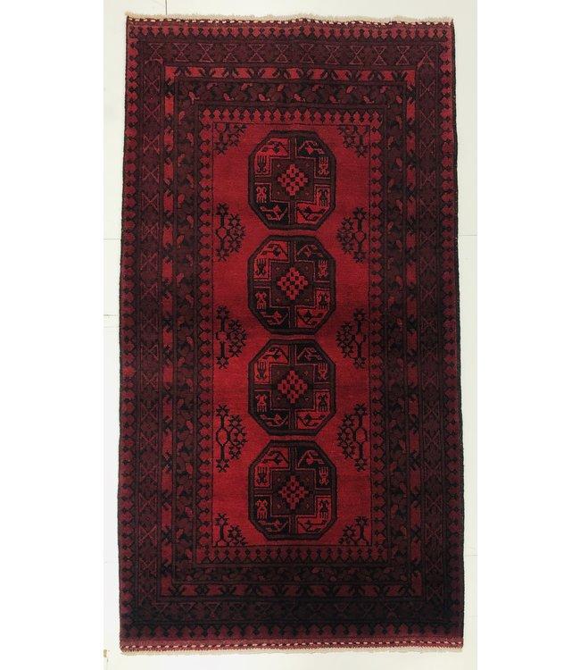 Afghan aqcha tapijt hand geknoopt 195x106 cm
