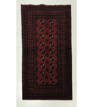 6'2x3'1 feet  Afghan rug aqcha hand knotted  189x97cm