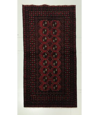 Afghan aqcha tapijt hand geknoopt 189x97 cm
