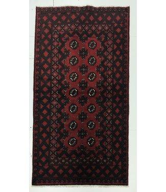 Afghan aqcha tapijt hand geknoopt 194x102 cm