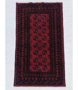 Afghan aqcha tapijt hand geknoopt 190x102 cm