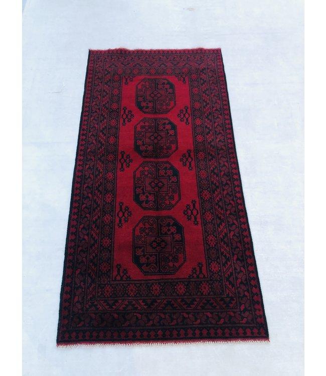 Afghan aqcha tapijt hand geknoopt 202x102cm