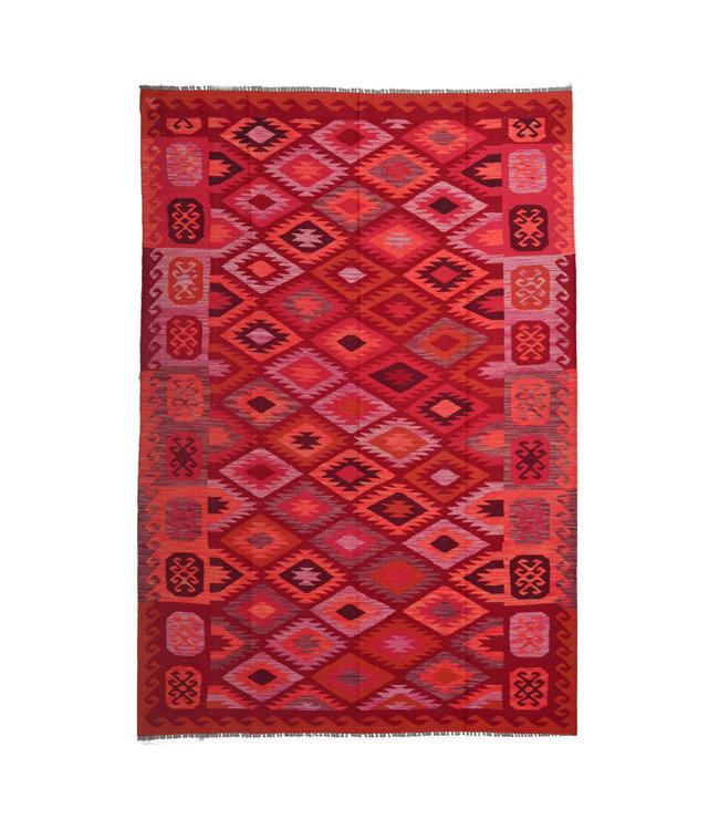 kelim kleed  292x204 cm vloerkleed tapijt kelims hand geweven