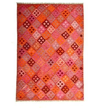 9'74x6'62 )-Feet modern kelim rug 297x202 cm
