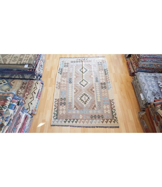 kelim 200 x 104 cm vloerkleed tapijt kelims hand geweven