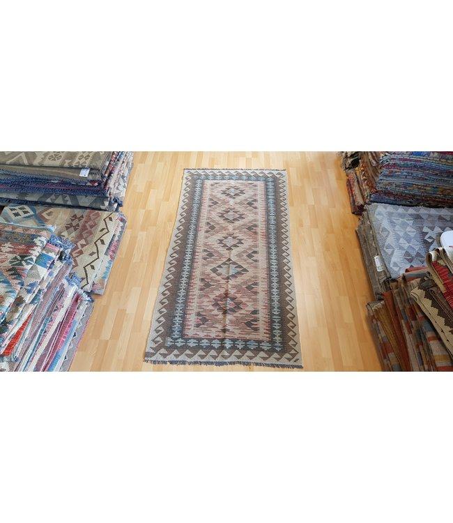 kelim206 x 101 cmvloerkleed tapijt kelims hand geweven