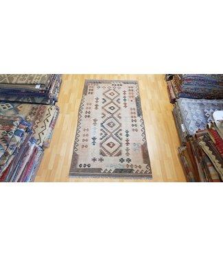 6'85x3'70 Feet modern kelim rug 209x113 cm