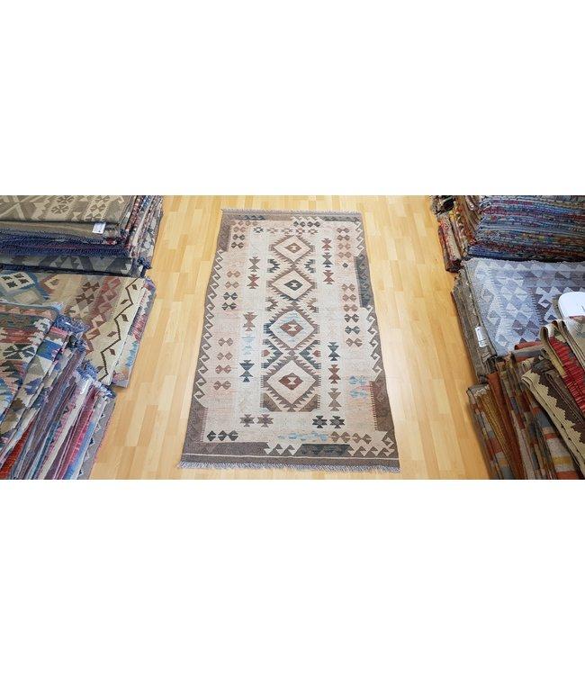 kelim kleed 209x113 cm  vloerkleed tapijt kelims hand geweven