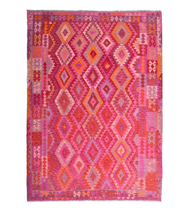 kelim kleed 297x205 cm vloerkleed tapijt kelims hand geweven