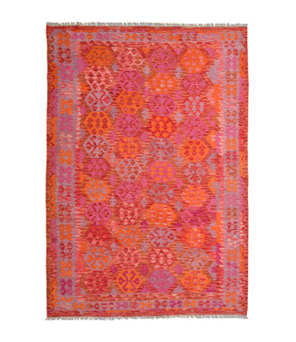 9'84x6'85 Feet modern kelim rug 300x209 cm