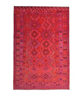10'00x6'69 Feet modern kelim rug 305x204 cm