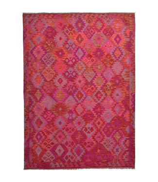 9'31x6'69 Feet modern kelim rug 284x207 cm